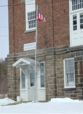 U.S. Post Office of Russell, New York